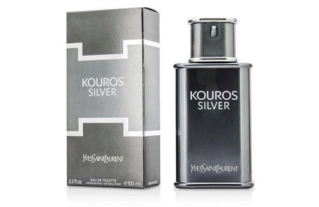 "Kouros Silver א.ד.ט 100 מ""ל בושם לגבר - איב סאן לורן Yves Saint Laurent"