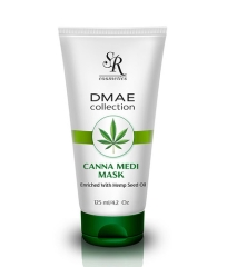 מסכת קנאביס sr cosmetics dmae collection canna medi mask